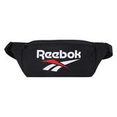 REEBOK 運動腰包 肩包 側背包 黑 FS1621