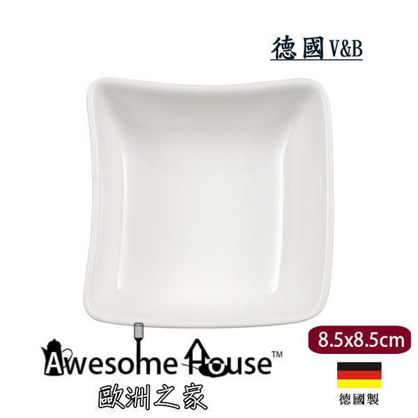 德國V&B 唯寶 New Wave 白瓷 8.5x8.5cm 醬料 小蝶 # 1025253932