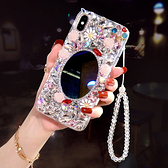 IPhone12 iPhone11 Pro Max 12mini SE2 XS Max IX XR i8 i7 Plus i6S 蘋果手機殼 水鑽殼 客製 手做 凡爾賽花園