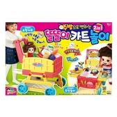 《 MIMI World 》2in1可愛廚房手推車(新) / JOYBUS玩具百貨