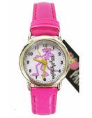 【卡漫城】 頑皮豹 手錶 桃紅 ㊣版 皮格 Pink Panther 粉紅豹 給我豹豹 粉紅豹 女錶 卡通錶 ~249元