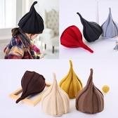韓版女童秋冬季帽子男童西瓜帽寶寶毛線加絨嬰兒兒童尖尖帽潮親子