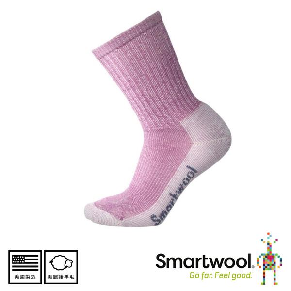 【SmartWool 美國 女 輕量減震徒步中長襪 《霧紫/粉霧紫》】SW0SW293/中長襪/女襪/登山襪/健行襪