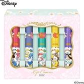 DHC護唇膏 日本DHC Disney 迪士尼公主系列白雪公主小美人魚 純欖護唇膏【1盒5支入】[寶寶小劇場]