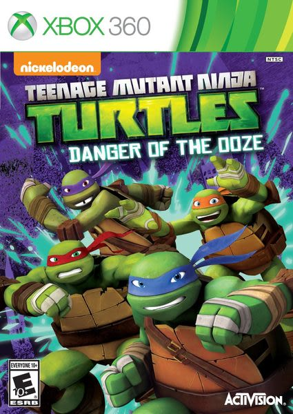 XBOX 360 忍者龜:變種危機 -英文美版- Ninja Turtles: Danger of the OOZE