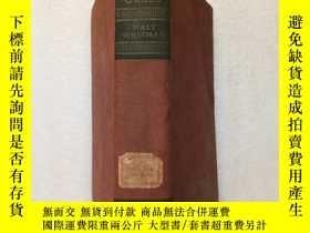 二手書博民逛書店LEAVES罕見OF GRASS(民國版、1931)毛邊書、英文