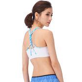 【MACACA】 瑩心 zip bra - ASA0602(白)(瑜伽/慢跑/健身/中強度運動)