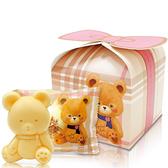 英國貝爾小熊香氛抗菌皂-禮物款 個別造型提盒包裝 適合婚禮小物/送客禮/贈品