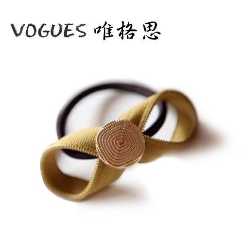 韓款絨布蝴蝶結髮束(4色)G009【Vogues唯格思】