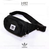 IMPACT Adidas Originals Prem Ess 黑 白 三葉草 腰包 斜背包 側背包 DW7353