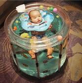 充氣泳池 游泳桶家用兒童寶寶室內充氣游泳池新生嬰幼兒加厚保溫洗澡桶【快速出貨八折搶購】