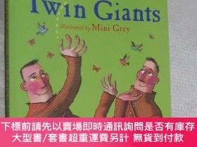 二手書博民逛書店The罕見Twin Giants Dick King-Smith 英文原版Y12480 Dick King-S