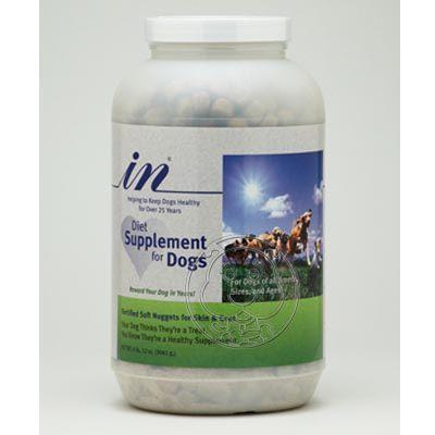 【培菓幸福寵物專營店】IN+PLUSin贏犬用卵磷脂(大)6.75磅(3061g)