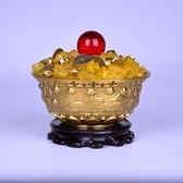 銅聚寶盆擺件招財聚財家居開運裝飾品旺財禮品【聚寶屋】