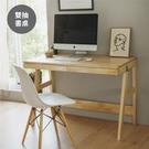 書桌 辦公桌 工作桌 電腦桌 桌【I0023】SHU簡約雙抽書桌(兩色) 收納專科