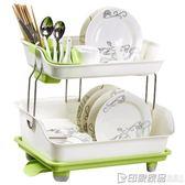 雙層瀝水碗碟架放碗架碗碟架水槽池碗筷廚房用品碗盤晾碗架洗碗架 印象家品旗艦店