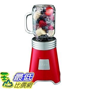 [美國直購] Oster BLSTPB-BALL-R 梅森聯名 隨鮮瓶 果汁機 Blend N Go Mason Jar Blender with (2) 20 oz. 紅色