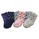 嬰兒襪子 防滑止滑 0-2歲 六件組 紫花花-Carter s卡特 (嬰幼兒/寶寶/兒童/小孩/小朋友)