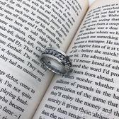 女戒指 19 STUDIO ins韓版簡約鈦鋼情侶款飾品鍊條戒指 男女 卡卡西