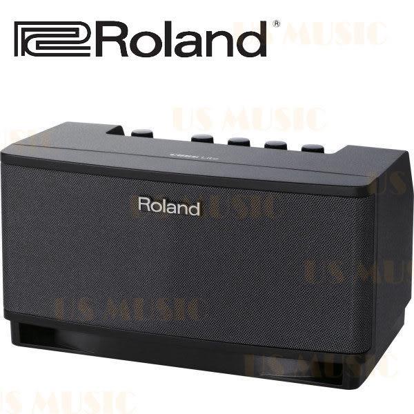 【非凡樂器】Roland CUBE LITE 內建IOS介面的時尚吉他擴大音箱 10W黑色款 / 贈導線 公司貨保固