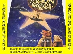 二手書博民逛書店精裝大開本罕見The Man in the Moon and the Hot-Air BalloonY2645