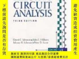 二手書博民逛書店Electric罕見Circuit Analysis-電路分析Y436638 David E. Johnson