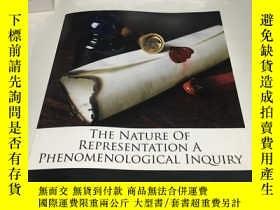 二手書博民逛書店The罕見Nature Of Representation A Phenomenological Inquiry