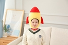 【單一款】火箭造型頭帽 變裝帽 拍照裝飾品 聖誕節交換禮物 尾牙春酒派對表演 搞怪道具