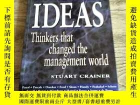 二手書博民逛書店KEY罕見MANAGEMENT IDEAS(Thinking t