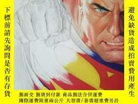 二手書博民逛書店漫畫手搞,罕見Rough Justice: The DC Comics Sketches of Alex Ross