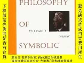 二手書博民逛書店The罕見Philosophy Of Symbolic Form
