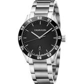 Calvin Klein CK 運動風格手錶-黑/42mm K9R31C41