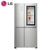 【現貨供應中 私訊享優惠價】[LG 樂金]820公升InstaView™ 敲敲看門中門冰箱/星辰銀 GR-QL88N