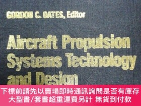二手書博民逛書店AIAA專著罕見Aircraft Propulsion Systems Technology and Design