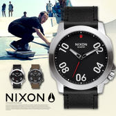 NIXON A466-008 Ranger 45 Leather 時尚百變 熱賣中!