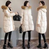 孕婦裝 孕婦棉衣女中長版新品正韓寬鬆棉服懷孕期秋冬保暖季加厚棉襖冬裝外套