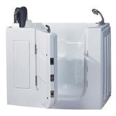 【海夫健康生活館】開門式浴缸108-T 恆溫水柱按摩款 (110*68*92cm)