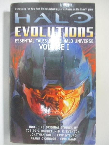 【書寶二手書T1/原文小說_BWI】Halo Evolutions: Essential Tales of the Halo Universe