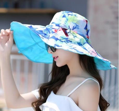 [協貿國際]  女士春夏天遮陽帽夏季大沿帽 (1入)