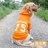 金毛狗狗衣服春秋薄款中型大型犬大狗拉布拉多阿拉斯加寵物秋冬裝  遇見生活
