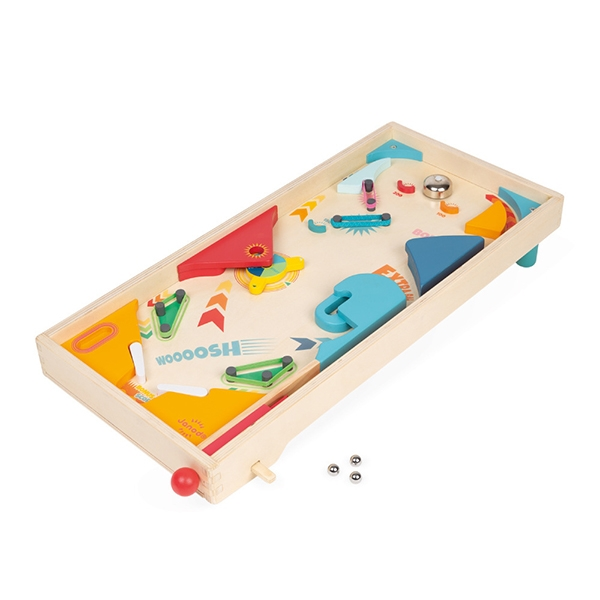 【法國Janod】桌上遊戲-彈珠台