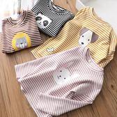 女童純棉長袖T恤兒童打底衫中大童上衣女孩衣薄款吾本良品