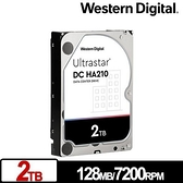 WD 威騰 Ultrastar DC HA210 2TB 3.5吋企業級硬碟