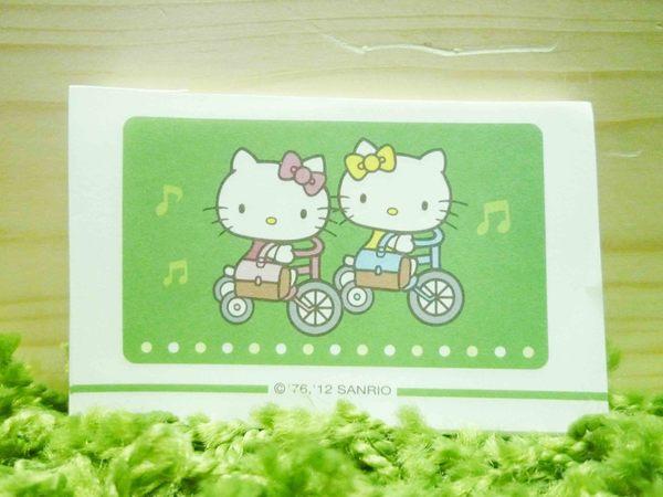 【震撼精品百貨】Hello Kitty 凱蒂貓~便條紙-騎腳踏車圖案【共1款】