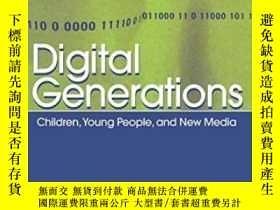 二手書博民逛書店Digital罕見Generations-數字時代Y436638 David Buckingham Routl