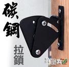 碳鋼【門扣】拉鎖 美式工業風 吊門五金配...
