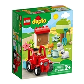 10950【LEGO 樂高積木】Duplo 得寶幼兒系列 - 拖拉機 & 動物照護中心