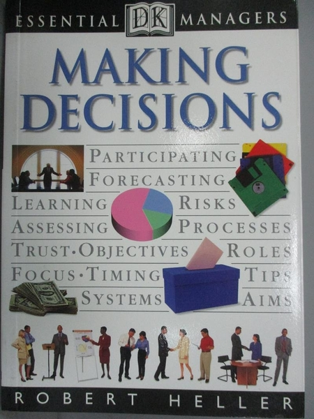【書寶二手書T9/財經企管_KIH】Making Decisions (Essential Managers)_Robe