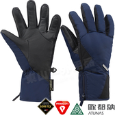 Atunas歐都納 A-A1738深藍 Gore-Tex女防風防水手套 Primaloft保暖防寒手套/雪地滑雪騎士手套