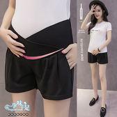 *孕味十足。孕婦裝*現貨+預購 【CQH963302】舒適低腰托腹純色孕婦(腰圍可調)短褲 三色